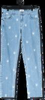 Blauwe BLS HAFNIA Straight leg jeans NEW ALL OVER JEANS