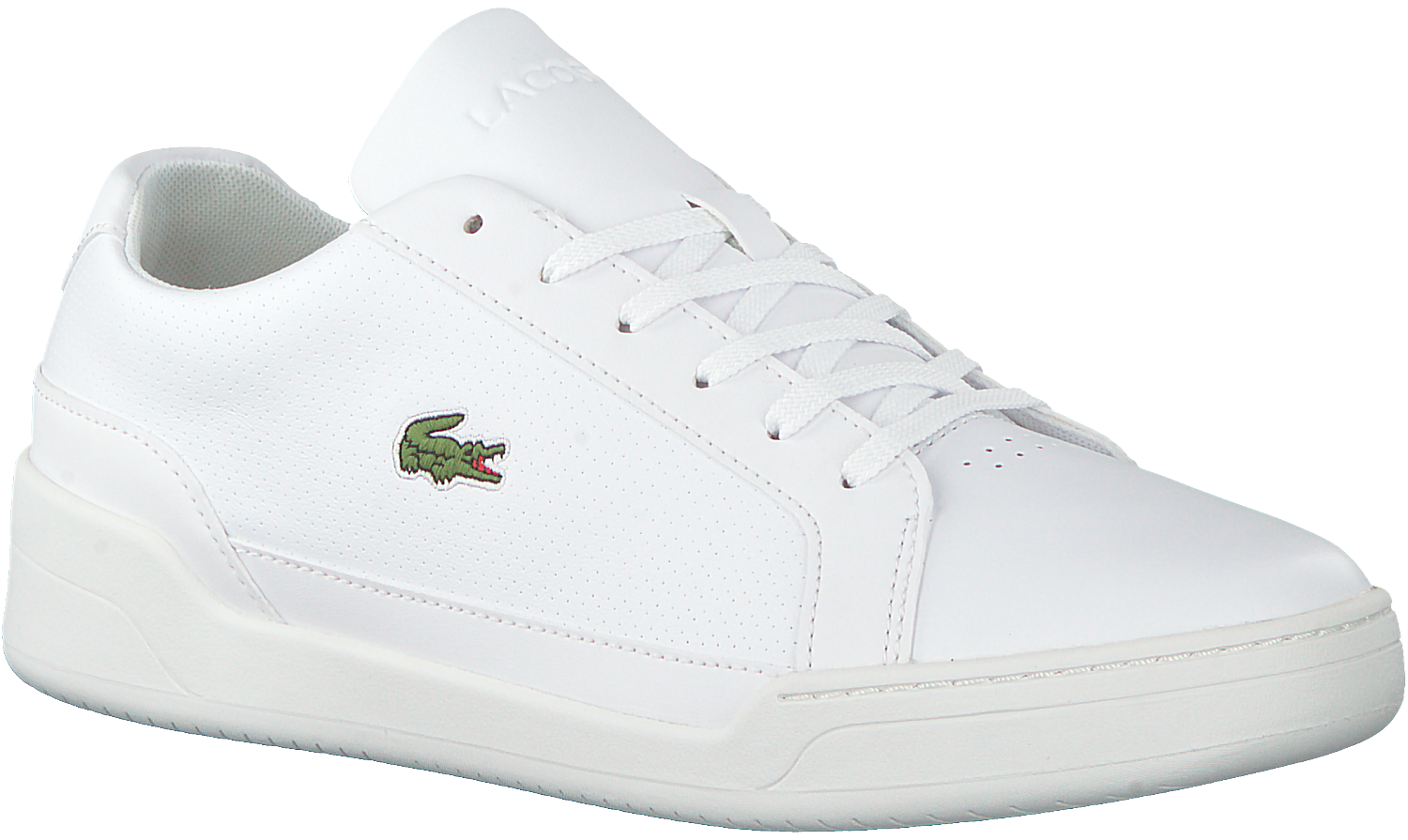 fb5cfe816d6 Witte LACOSTE Sneakers CHALLENGE - Omoda.nl