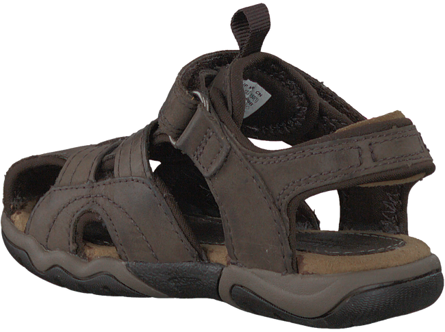 Bruine TIMBERLAND Sandalen OAK BLUFFS LEATHER FISHERMAN  - large