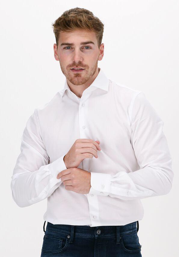Witte PROFUOMO Klassiek overhemd HAISEY  - larger