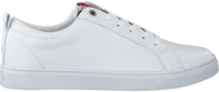 Witte TOMMY HILFIGER Lage sneakers CASUAL CORPORATE  - medium