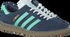 Blauwe ADIDAS Sneakers HAMBURG  - small