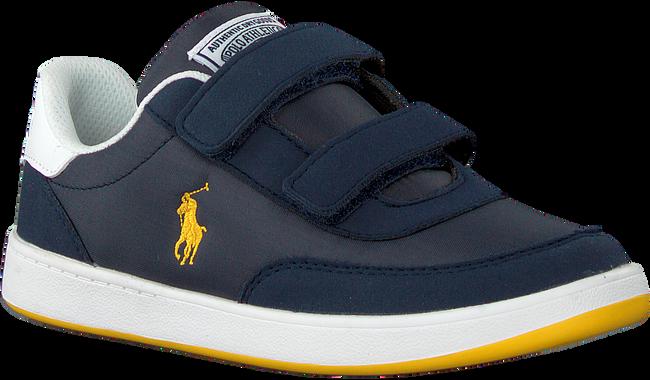 Blauwe POLO RALPH LAUREN Lage sneakers RONNIE EZ  - large