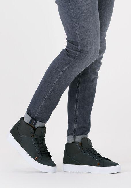 Blauwe HUB Hoge sneaker MURRAYFIELD 2.0  - large