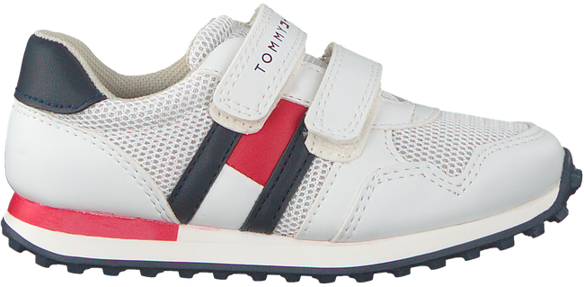 Witte TOMMY HILFIGER Sneakers LOW CUT VELCRO SNEAKER  - large