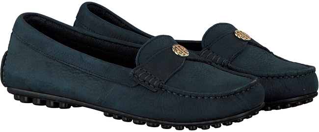 Blauwe TOMMY HILFIGER Mocassins MOCCASIN WITH CHAIN DETAIL  - large