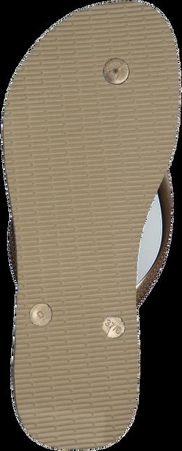 Beige HAVAIANAS Slippers SLIM CRYSTAL GLAMOUR  - large