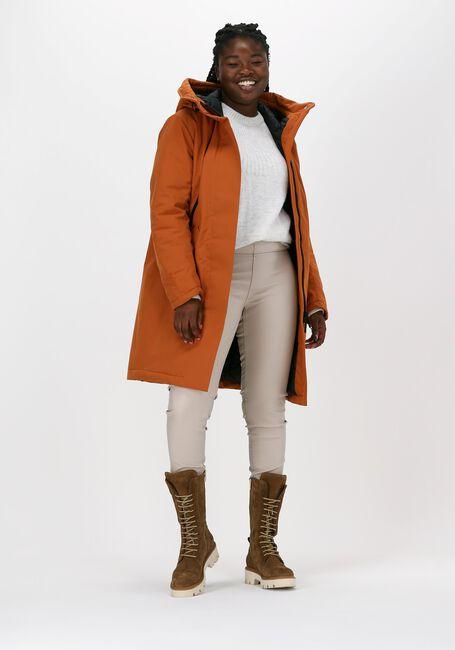 Oranje KRAKATAU Gewatteerde jas QW345  - large