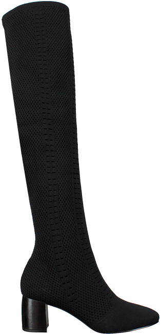 Zwarte WHAT FOR Overknee laarzen ALBANE WOVEN  - large