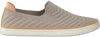 Taupe UGG Instappers SAMMY CHEVRON METALLIC  - small