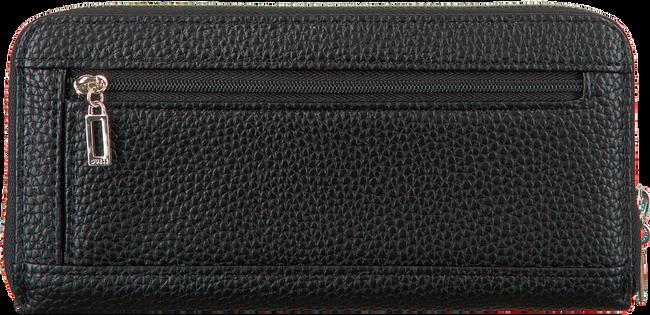 Zwarte GUESS Portemonnee ALBY SLG LARGE ZIP AROUND  - large