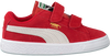 Rode PUMA Sneakers SUEDE 2 STRAPS - small