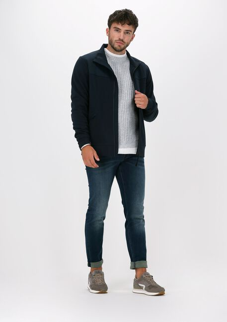 Blauwe VANGUARD Slim fit jeans V850 MID FOUR WAY - large