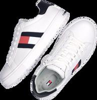 Witte TOMMY HILFIGER Lage sneakers 30921  - medium