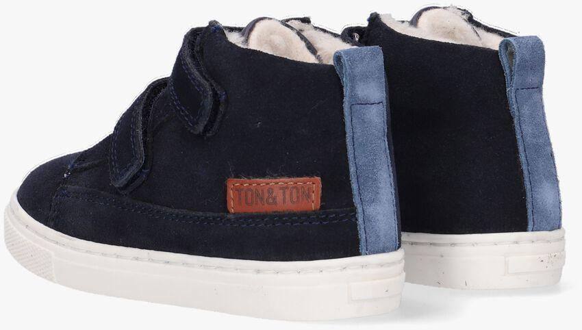 Blauwe TON & TON Hoge sneaker STEYN  - larger