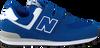 Blauwe NEW BALANCE Sneakers YV574 M  - small