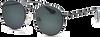Zwarte IKKI Zonnebril VOLPE - small