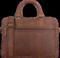 Bruine MAZZELTOV Laptoptas 18296  - medium