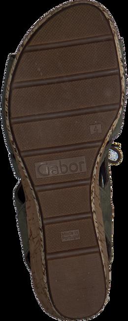 Groene GABOR Sandalen 875  - large
