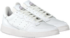 Witte ADIDAS Lage sneakers SUPERCOURT  - small