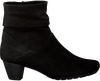 Zwarte GABOR Enkellaarsjes 823 - small