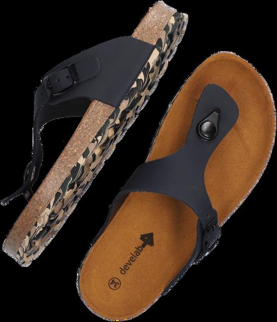 Blauwe DEVELAB Slippers 48165 - large
