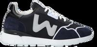 Blauwe WOMSH Lage sneakers RUNNY HEREN  - medium