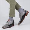 Grijze REHAB Nette schoenen GREG CROCO  - small