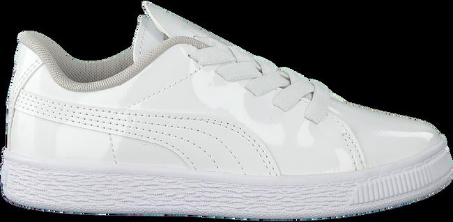 Witte PUMA Sneakers BASKET CRUSH PATENT AC  - large