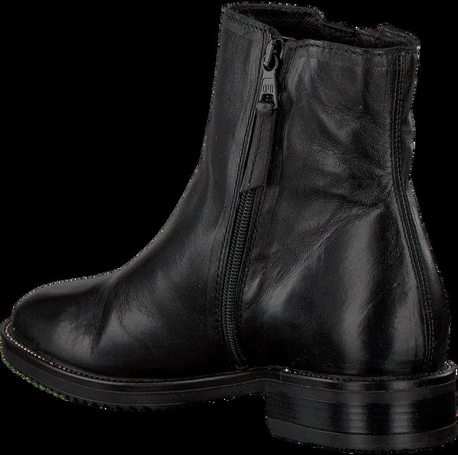 Zwarte MJUS Enkellaarsjes 108207 - large