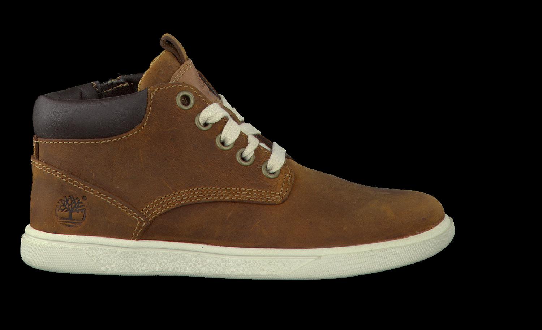 Cuir Marron Timberland Chukka Chaussures À Lacets yqktoBt2G