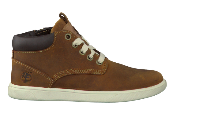 Bruine TIMBERLAND Enkelboots GROVETON LEATHER CHUKKA  - large
