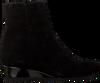 Zwarte HASSIA Enkellaarsjes 2183 - small