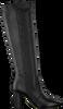 Zwarte FRED DE LA BRETONIERE Lange laarzen 193010041  - small
