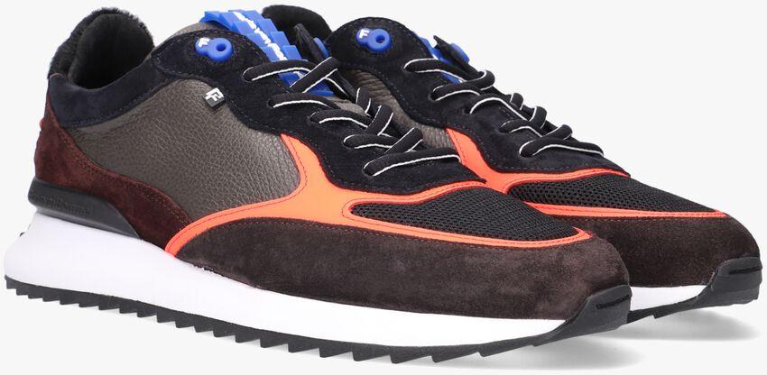 Grijze FLORIS VAN BOMMEL Lage sneakers 16486  - larger