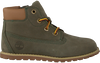Groene TIMBERLAND Veterboots POKEY PINE 6IN BOOT KIDS - small