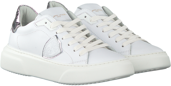 Witte PHILIPPE MODEL Lage sneakers TEMPLE S FEMME  - large