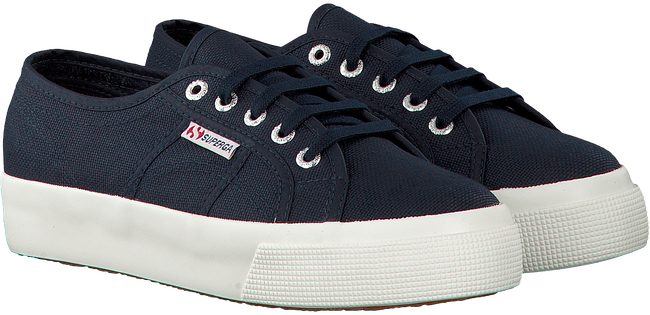 Blauwe SUPERGA Sneakers 2730 COTU - large