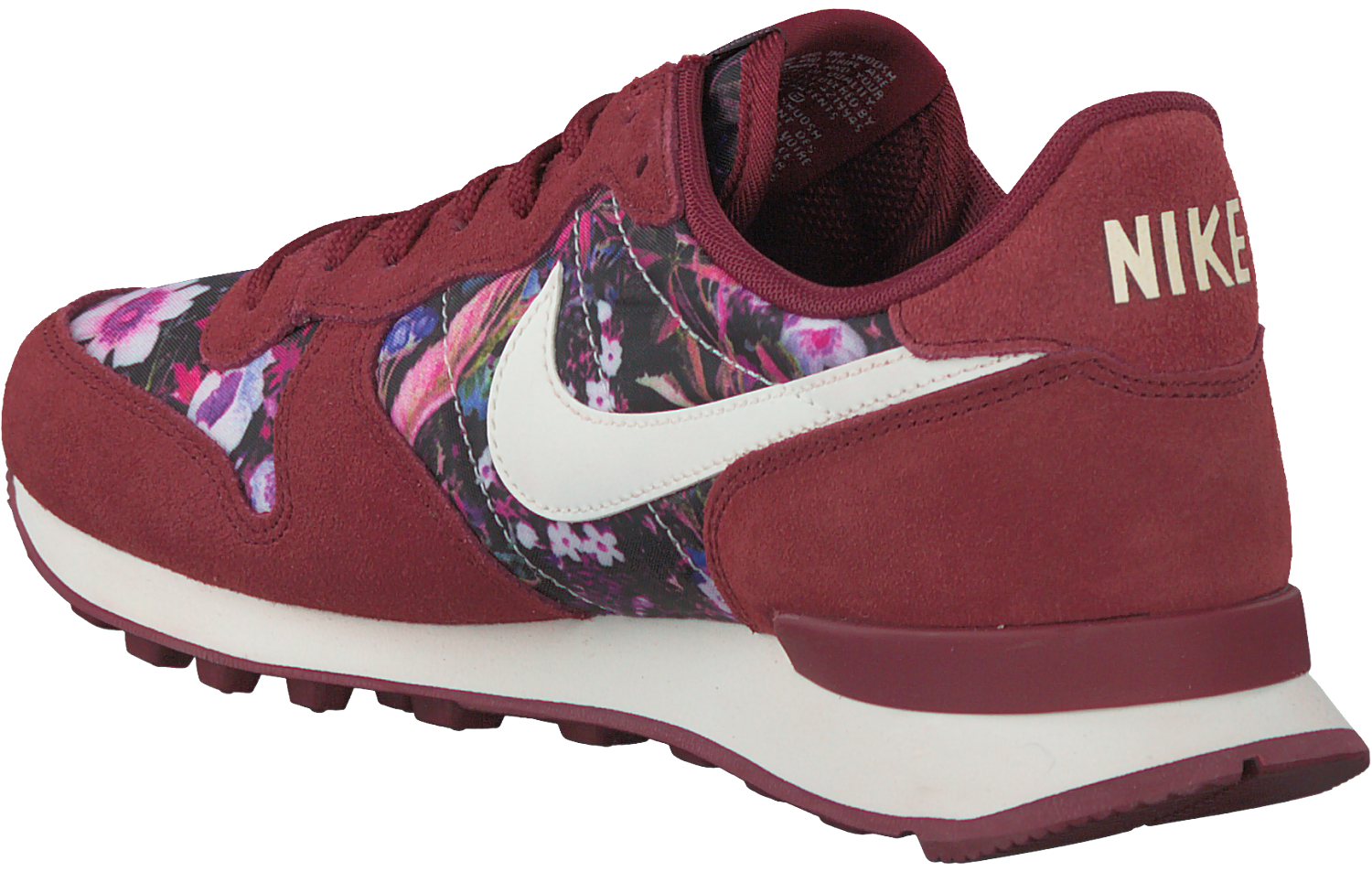 Rode NIKE Sneakers INTERNATIONALIST WMNS | Omoda