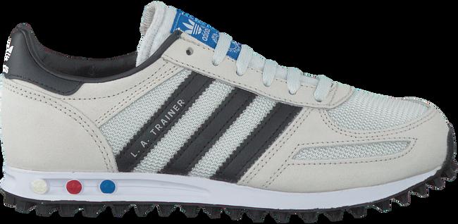 Witte ADIDAS Sneakers LA TRAINER KIDS  - large