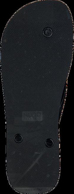 Zwarte HUGO Slippers ONFIRE THNG RBLG1  - large