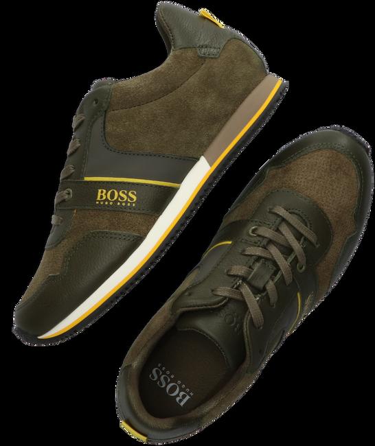 Groene BOSS KIDS Lage sneakers BASKETS  - large