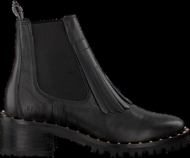 Zwarte NUBIKK Chelsea boots DJUNA FRINGE - large