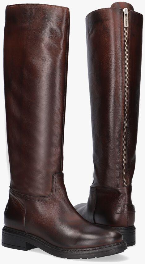 Bruine SHABBIES Hoge laarzen 191020080  - larger