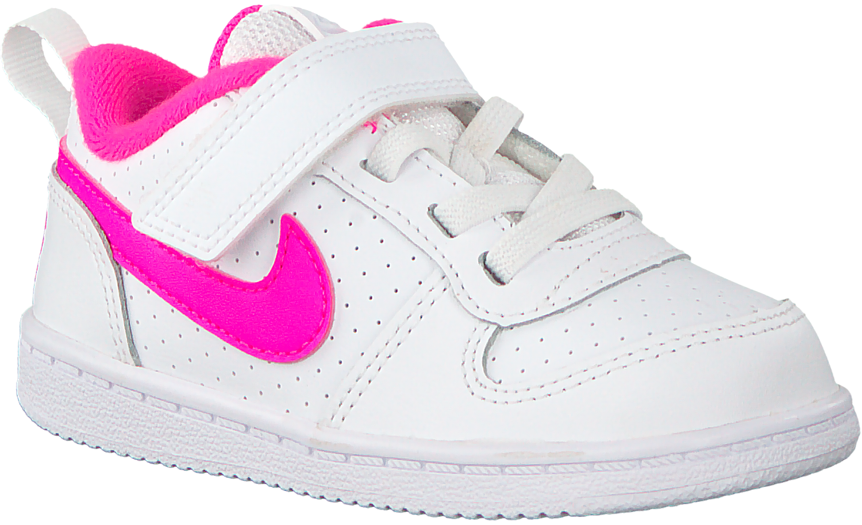 199aa365b42 Witte NIKE Sneakers COURT BOROUGH LOW (KIDS). NIKE. -20%. Previous
