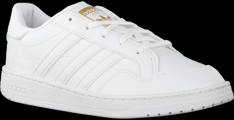 Witte ADIDAS Lage sneakers TEAM COURT C Omoda.nl