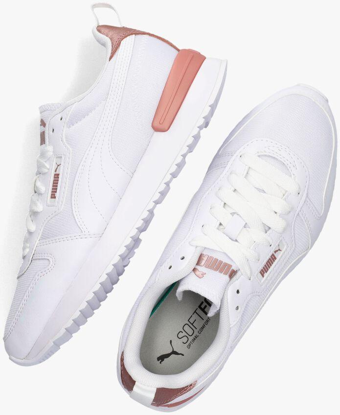 Witte PUMA Lage sneakers PUMA R78 WNS METALLIC POP  - larger