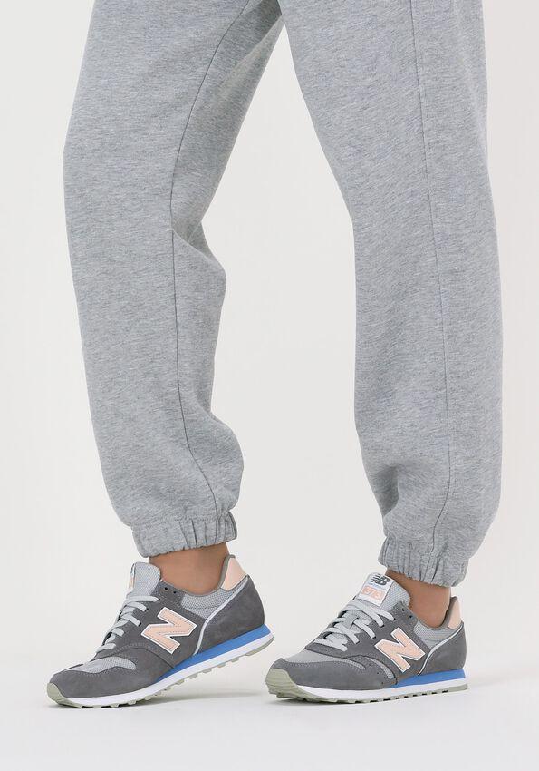 Grijze NEW BALANCE Lage sneakers WL373  - larger