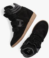 Zwarte HIP Hoge sneaker H1556  - medium