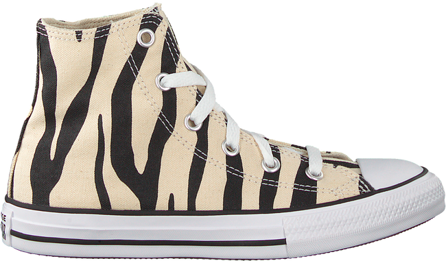 Beige CONVERSE Sneakers CHUCK TAYLOR HI KIDS  - large
